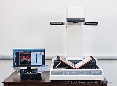 Book scanner ElarSCAN A2